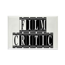 Film Critic Rectangle Magnet
