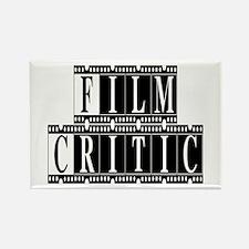 Film Critic Rectangle Magnet