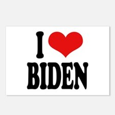 I Love Biden Postcards (Package of 8)