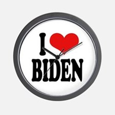 I Love Biden Wall Clock
