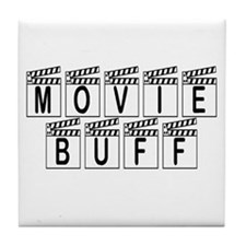 Movie Buff Tile Coaster