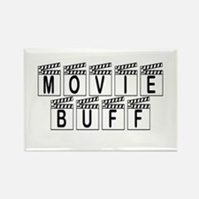 Movie Buff Rectangle Magnet