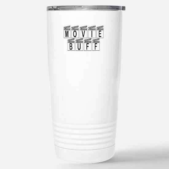 Movie Buff Stainless Steel Travel Mug