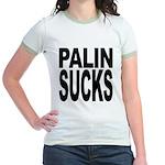 Palin Sucks Jr. Ringer T-Shirt