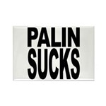 Palin Sucks Rectangle Magnet (100 pack)