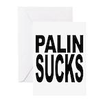 Palin Sucks Greeting Cards (Pk of 10)