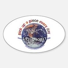 Litter Project Oval Decal