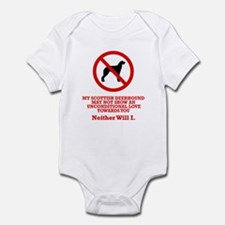 Scottish Deerhound Infant Bodysuit