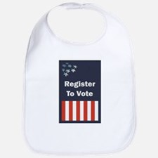 Register To Vote Bib
