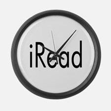 iRead Large Wall Clock