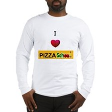 Pizza School Long Sleeve T-Shirt