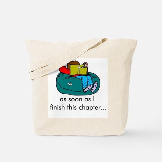 Reading Tote Bag