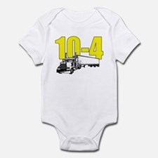 10-4 Trucker Infant Bodysuit