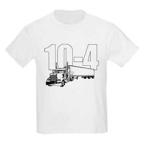 10-4 Trucker Kids Light T-Shirt