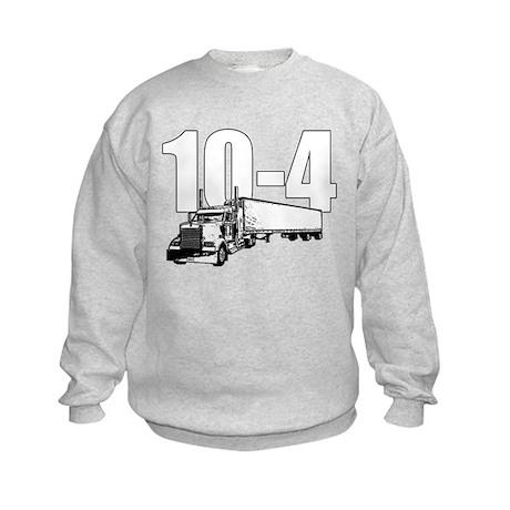 10-4 Trucker Kids Sweatshirt