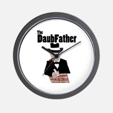 The DaubFather Wall Clock