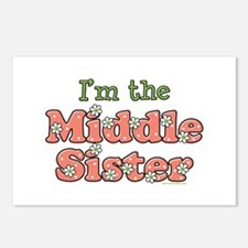 I'm the Middle Sister Postcards (Package of 8)