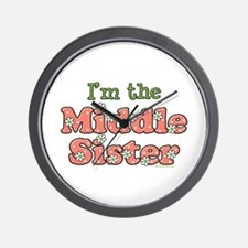I'm the Middle Sister Wall Clock