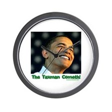 """The Taxman"" Wall Clock"