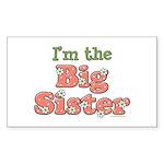 I'm the Big Sister Rectangle Sticker