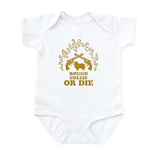 Rough Collie Infant Bodysuit