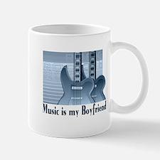 Music is My Boyfriend Mug