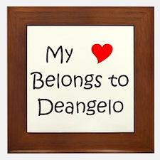 Cute Deangelo Framed Tile