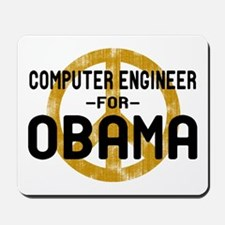 Computer Engineer for Obama Mousepad