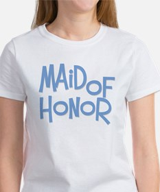 Hipster Maid of Honor: Blue Women's T-Shirt