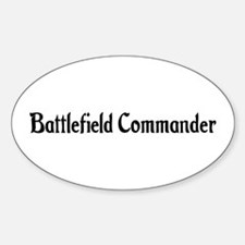 Battlefield Commander Oval Decal