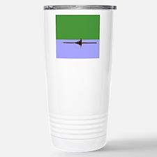 ROWER GREEN BLUE Travel Mug