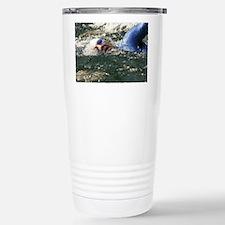 OPEN WATER SWIMMER Stainless Steel Travel Mug