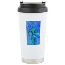 LOOKING STRONG PAINTING Travel Coffee Mug