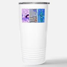 SOLO TRIATHLON TRIPTYCH PAINT Travel Mug