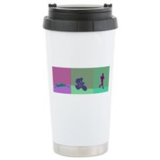 TRIATHLON SILHOUTTE WARM Travel Mug