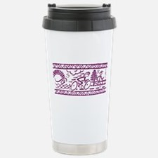 PURPLE TRI-BAND Travel Mug