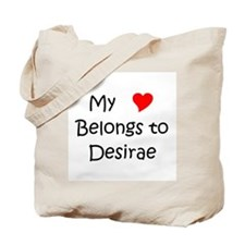 Cute Desirae Tote Bag