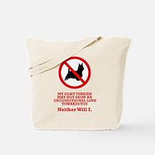 Silky Terrier Tote Bag