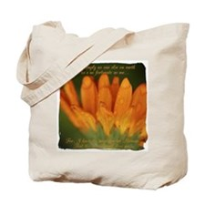 Memaw Orange Daisy Tote Bag