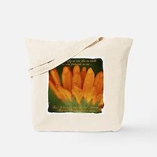 Memaw Orange Daisy Tote Bag