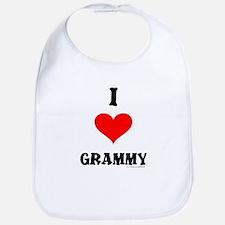 """""""I Love Grammy"""" Bib"""