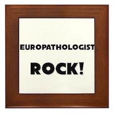 Neuropathologists ROCK Framed Tile