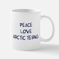 Peace, Love, Arctic Terns Mug