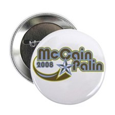 "McCain Palin 2008 2.25"" Button"