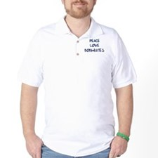 Peace, Love, Bobwhites T-Shirt
