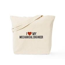 I Love My Mechanical Engineer Tote Bag