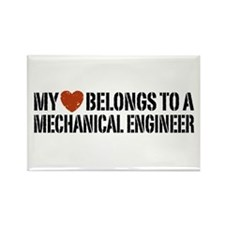 My Heart Belongs to a Mechanical Engineer Rectangl