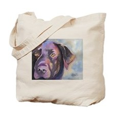 Cute Canine art Tote Bag