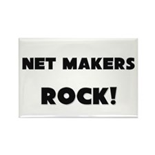 Net Makers ROCK Rectangle Magnet