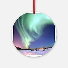 Aurora Borealis Ornament (Round)